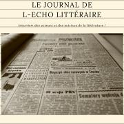 Partie journal l echo litteraire